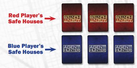 Cartas do jogo Agent Hunter