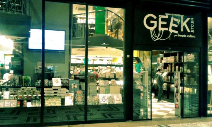 Livraria Cultura Geek - Conjunto Nacional