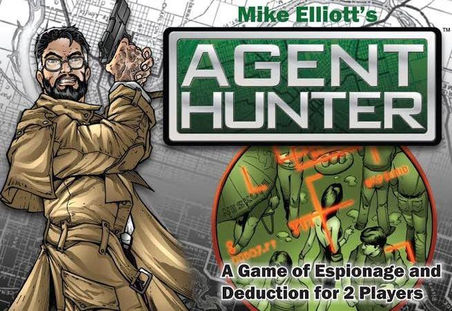 Jogo de tabuleiro Agent Hunter