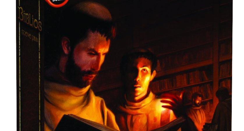 Jogo de tabuleiro Biblios