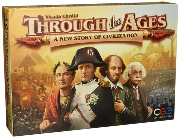 Jogo de tabuleiro Through the Ages