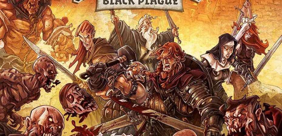 Zombicide Black Plague chegando em JULHO