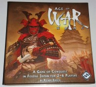 Capa jogo de tabuleiro Age of War