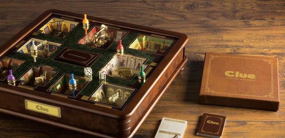 Clue versão Luxo um belíssimo tabuleiro