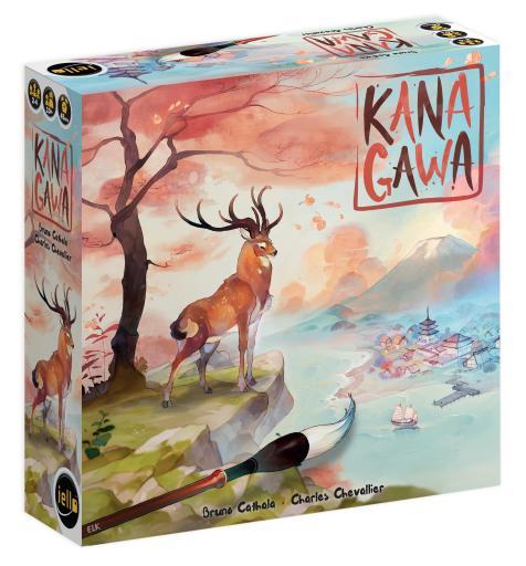 Descubra Kanagawa do Bruno Cathala