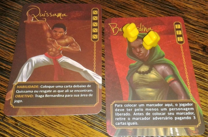 Jogo de tabuleiro Quissama