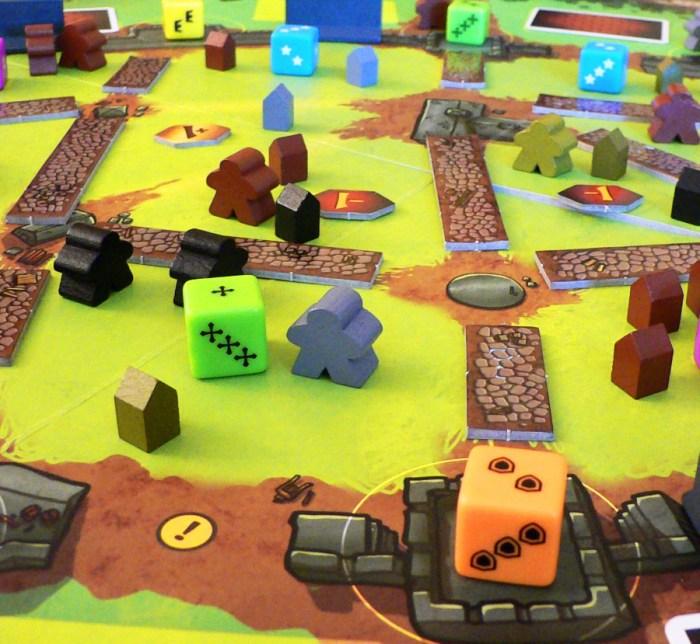 Jogo de tabuleiro The Walled City