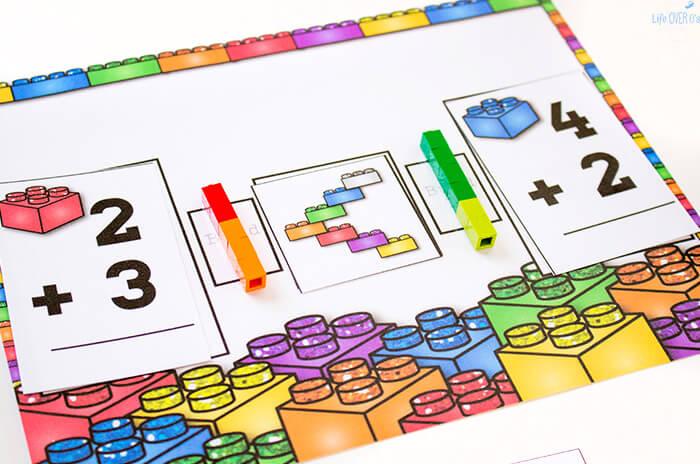 Lego-Addtion-Mat2