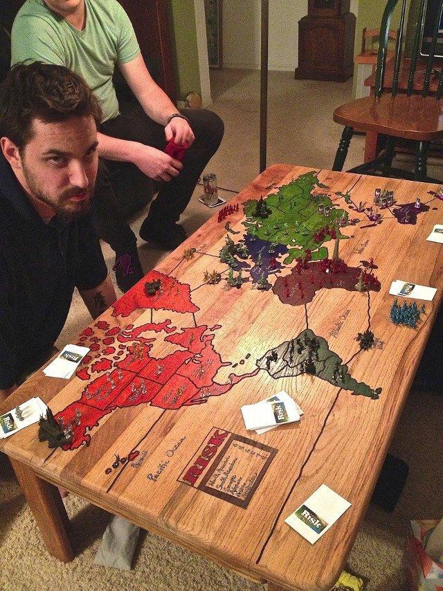 Qual jogo você gravaria na sua mesa?