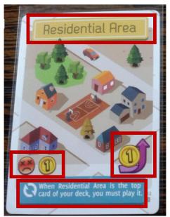 Área Residencial Explicada