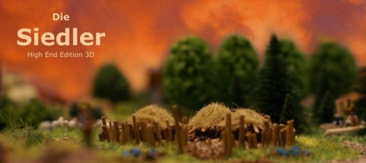 Colonizadores de Catan em 3D