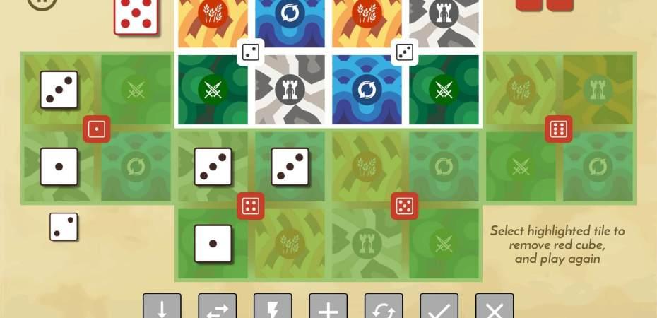 Destrua o Senhor dos Cubos em LAND 6