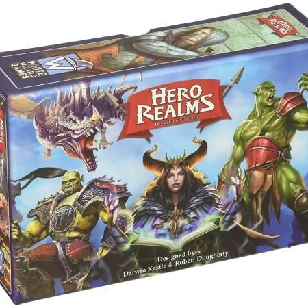 Hero Realms uma adaptação do Star Realms