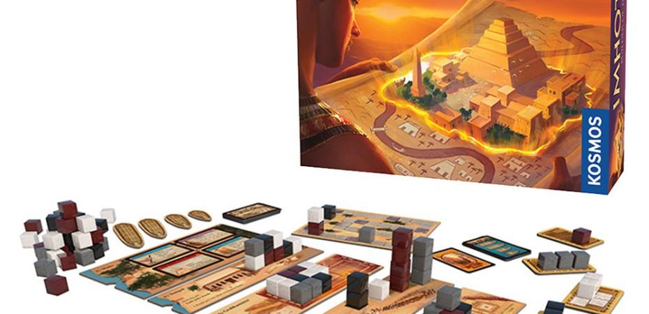 Jogo de tabuleiro Imhotep