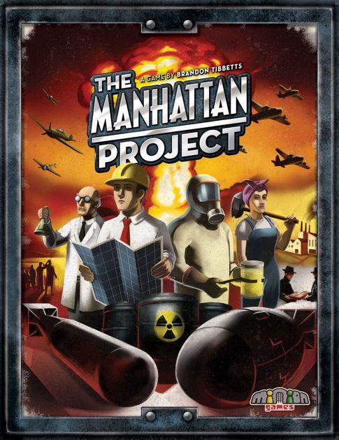 Jogo de tabuleiro The Manhattan Project