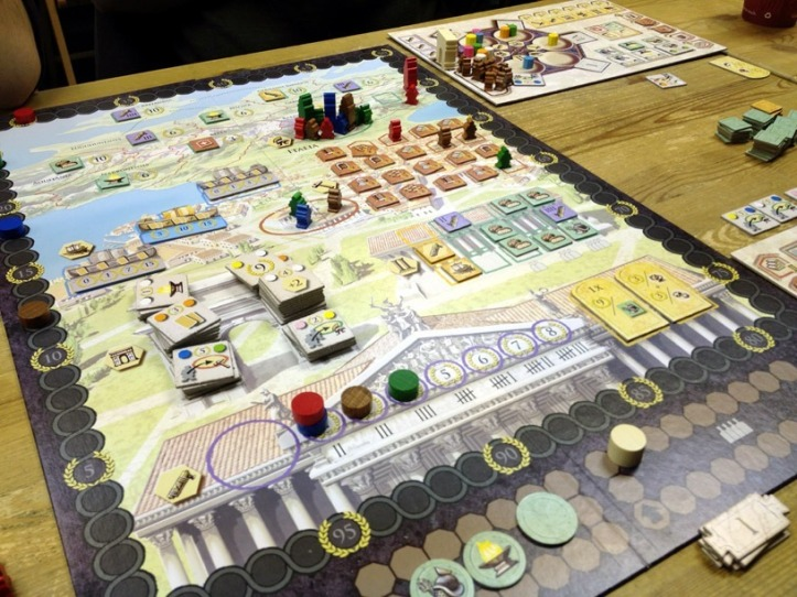 Jogo de tabuleiro Trajan