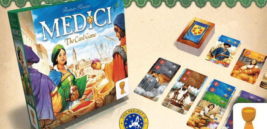 Medici em versão de cartas