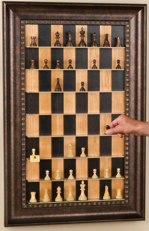 Xadrez vertical, faça você mesmo