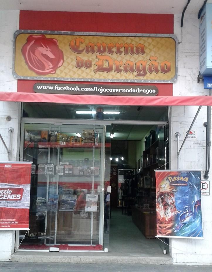 Loja de jogos de tabuleiro Caverna do Dragão