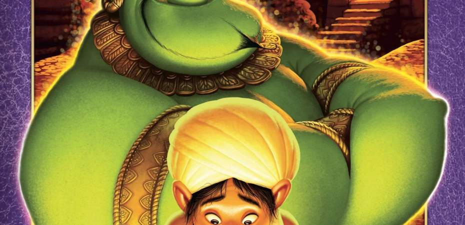 Aladdin e a lâmpada mágica