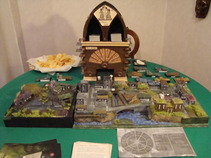 Arkham Horror 3D Board 2