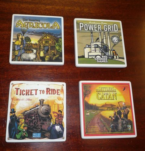 Board Game Coasters