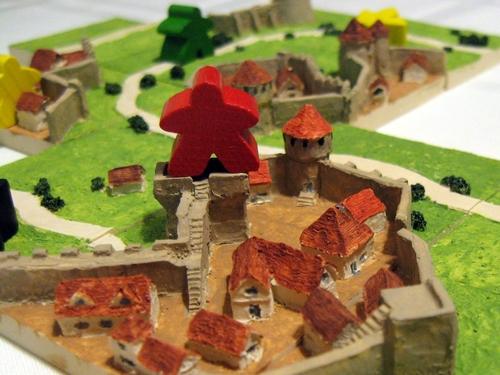 Jogo de tabuleiro Carcassonne 3d