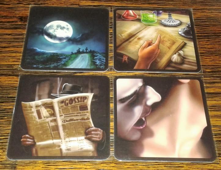 Cartas Biblioteca do jogo Nosferatu