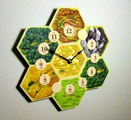 Catan Clock