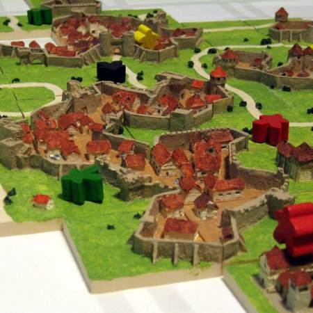 Idéias e acessórios - Carcassonne versão 3D