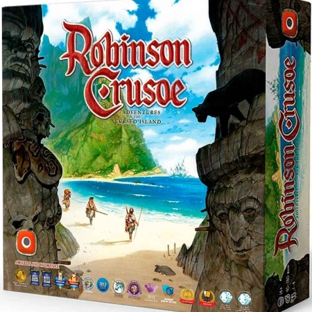 Jogo de tabuleiro Robinson Crusoe