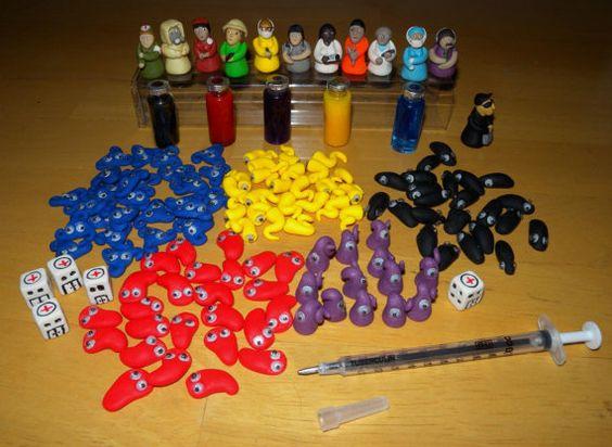 Idéias e acessórios para jogo de tabuleiro Pandemic