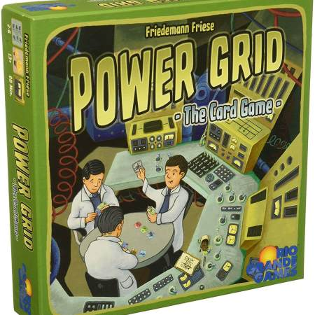 Power GRID the card game em breve