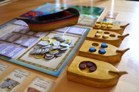 Idéias e acessórios jogo de tabuleiro Puerto Rico