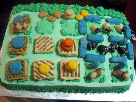 Um bolo de aniversário a La Agricola