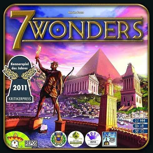 Jogo de tabuleiro Seven Wonders