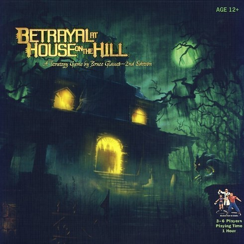 Jogo de tabuleiro Betrayal at House on the Hill