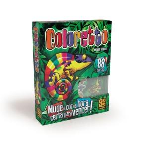 Jogo de tabuleiro Coloretto