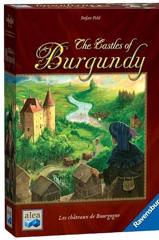Jogo de tabuleiro Castles of Burgundy