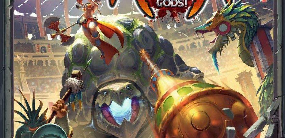 Jogo de tabuleiro Arena for the Gods