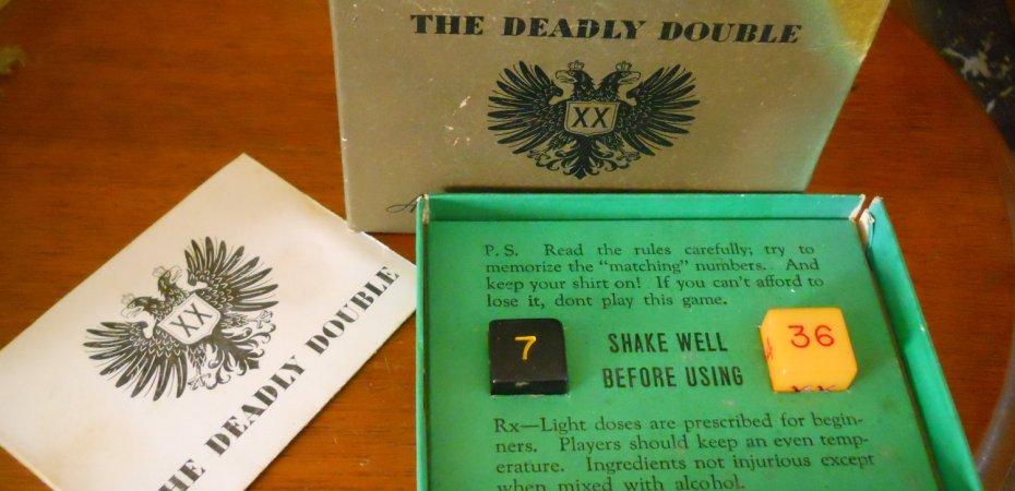 Jogo de tabuleiro Deadly Double e a Segunda Guerra