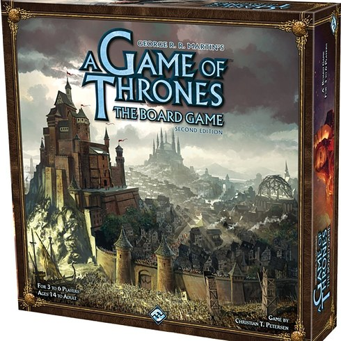 Jogo de tabuleiro A Game of Thrones: The Board Game (Second Edition)