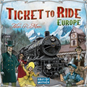Ticket To Ride Europe Caixa