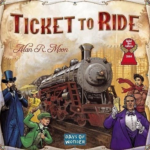 Jogo de tabuleiro Ticket to Ride