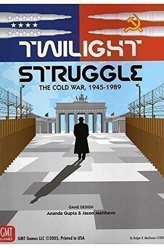 Jogo de tabuleiro Twilight Struggle