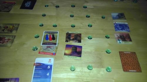 Marcadores de água para o jogo a Ilha Proibida