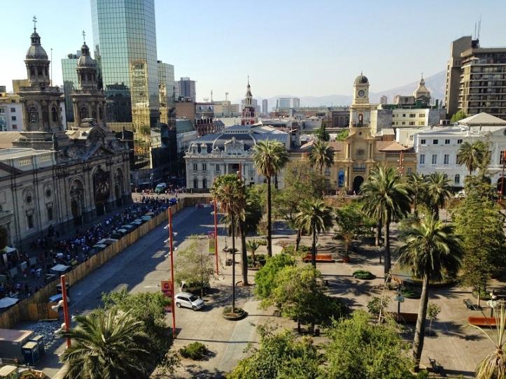 Cidade de Santiago, Chile.