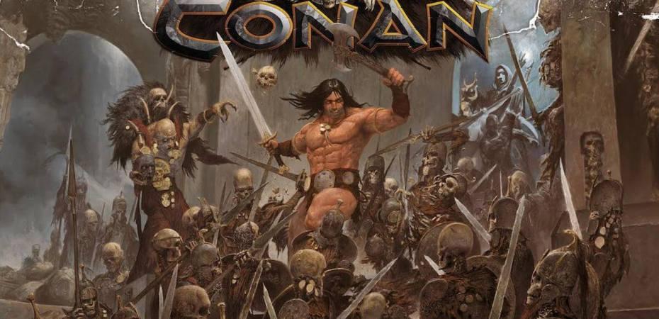 Unboxing do Conan pelo pessoal do Board Game Geek