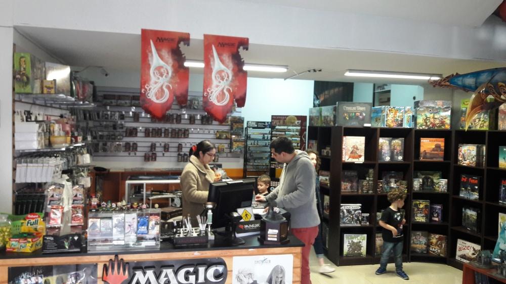 Visão geral loja Warpig