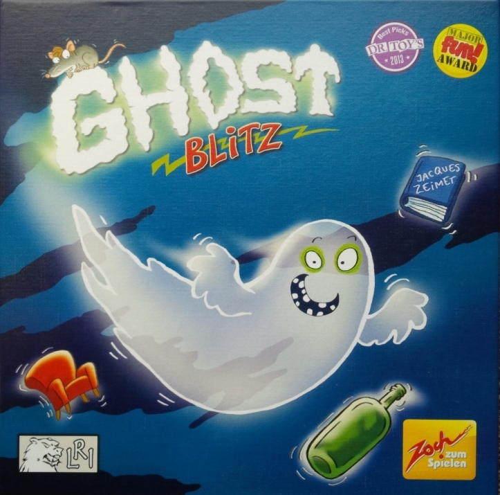Jogo de tabuleiro Fantasma Blitz